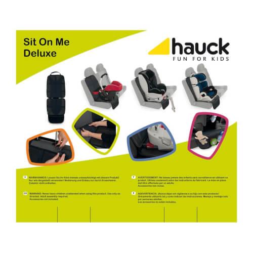 Hochwertige Sitzunterlage für alle Kinderautositze TOP Hauck Sit on Me Deluxe