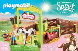 PLAYMOBIL 9480 Pferdebox ''Abigail & Boomerang''