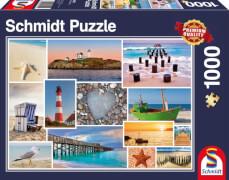 Schmidt Puzzle 58221 Am Meer, 1000 Teile, ab 12 Jahre