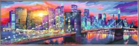 Ravensburger 28899 Malen nach Zahlen Leuchtendes New York
