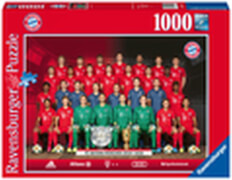 Ravensburger 13997 Puzzle FC Bayern Saison 2019/20 1000 Teile