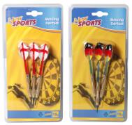 New Sports Sicherheits-Darts, 3 Stück, Kunststoffspitzen