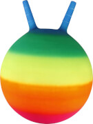 Outdoor active Sprungball Regenbogen, # 35 cm