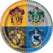 Harry Potter Pappteller 23 cm 8 Stück