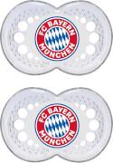 MAM FC Bayern Babyschnuller 6 - 16 Monate, Silikon